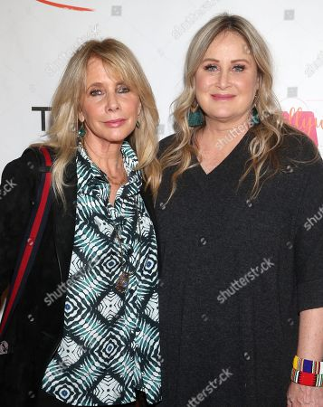 Stock Image of Rosanna Arquette and Kelly Stone