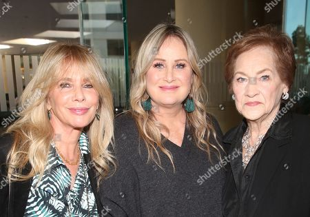 Rosanna Arquette, Kelly Stone and Dorothy Stone