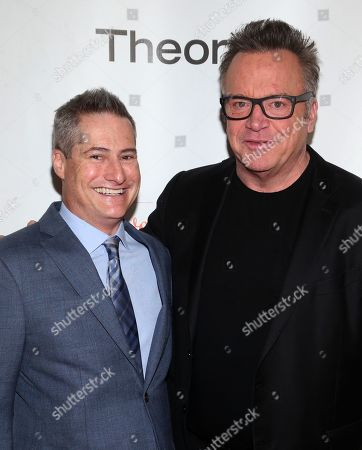 Adam Selkowitz and Tom Arnold