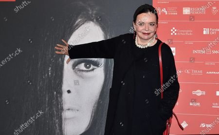 Britain actress BARBARA STEELE attends the inauguration of the 37th edition of the Torino Film Festival in Turin, Italy, 22 November 2019. The TFF runs from 22 to 30 November.