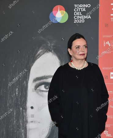 Stock Picture of Britain actress BARBARA STEELE attends the inauguration of the 37th edition of the Torino Film Festival in Turin, Italy, 22 November 2019. The TFF runs from 22 to 30 November.