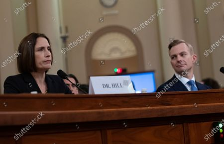 Dr. Fiona Hill, former Senior Director for Europe and Russia, National Security Council (NSC), and David A. Holmes, Political Counselor, United States Embassy in Kiev, Ukraine, on behalf of US Department of State, testify