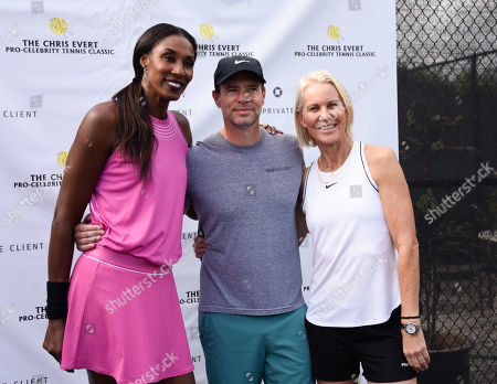 Stock Picture of Lisa Leslie, Scott Foley and Rennae Stubbs