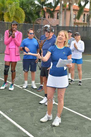 Editorial picture of 30th annual Chris Evert Pro-Celebrity Tennis Classic, Boca Raton, USA - 22 Nov 2019