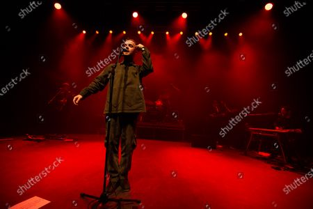 Editorial photo of Maverick Sabre in concert at O2 Shepherd's Bush Empire, London, UK - 22 Nov 2019