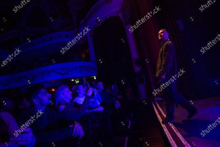 Editorial image of Maverick Sabre in concert at O2 Shepherd's Bush Empire, London, UK - 22 Nov 2019