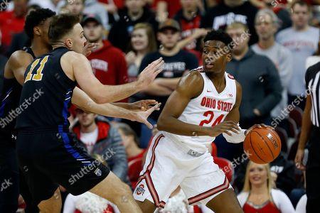 Editorial image of Purdue Fort Wayne Ohio St Basketball, Columbus, USA - 21 Nov 2019