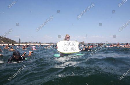 Editorial picture of People protest oil drilling in Great Australian Bight, in Australia, Gold Coast - 23 Nov 2019