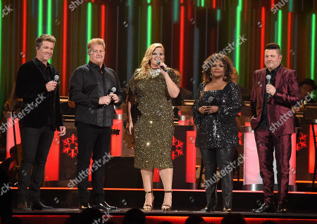 Joe Don Rooney, Gary LeVox, Trisha Yearwood, CeCe Winans and Jay DeMarcus