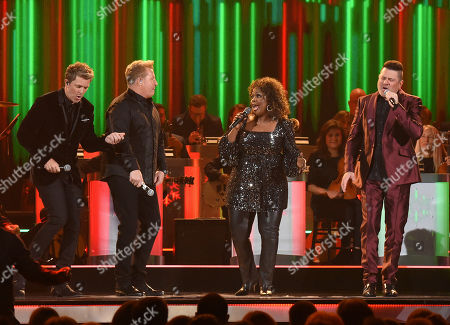 Joe Don Rooney, Gary LeVox, CeCe Winans and Jay DeMarcus