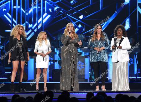 Tori Kelly, Kristin Chenoweth, Trisha Yearwood, Hillary Scott and CeCe Winans