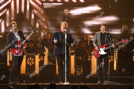 Stock Image of Joe Don Rooney, Gary LeVox and Jay DeMarcus from Rascal Flatts