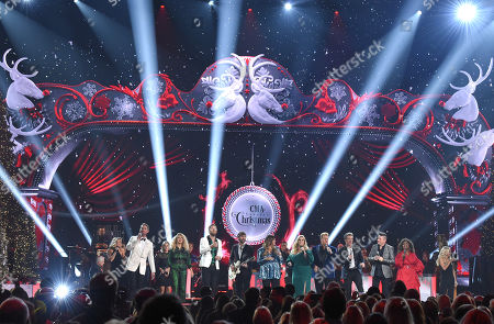 Editorial picture of CMA Country Christmas Show, Nashville, USA - 25 Sep 2019