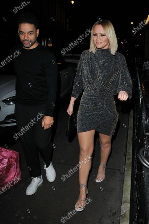 Stock Picture of Justin Scott and Kimberley Walsh