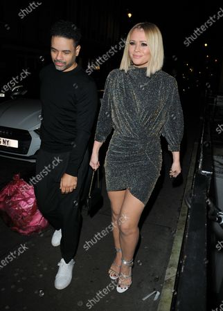 Editorial picture of Kimberley Walsh 38th birthday party at Bagatelle, London, UK - 22 Nov 2019