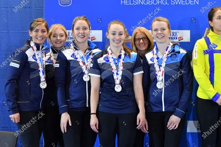 Editorial picture of Curling European Championship final, Helsingborg, Sweden - 23 Nov 2019