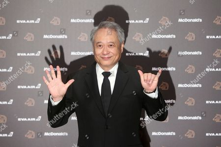 Taiwanese director Ang Lee poses on the red carpet at the 56th Golden Horse Awards in Taipei, Taiwan, . Lee is the guest at this year's Golden Horse Awards, one of the Chinese-language film industry's biggest annual events