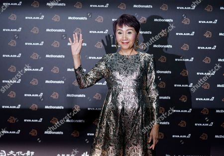 """Taiwanese actress Lu Yi-ching arrives at the 56th Golden Horse Awards in Taipei, Taiwan, . Lu is nominated for Best Supporting Actress for the film """"3 Days 2 Nights"""" at this year's Golden Horse Awards -one of the Chinese-language film industry's biggest annual events"""