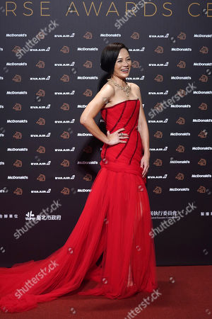 "Malaysian actress Yeo Yann-yann arrives at the 56th Golden Horse Awards in Taipei, Taiwan, . Yeo is nominated for Best Leading Actress for the film ""Wet Season"" at this year's Golden Horse Awards -one of the Chinese-language film industry's biggest annual events"