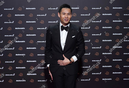 """Singapore director Anthony Chen arrives at the 56th Golden Horse Awards in Taipei, Taiwan, . Chen is nominated for Best Director for the film """"Wet Season"""" at this year's Golden Horse Awards -one of the Chinese-language film industry's biggest annual events"""