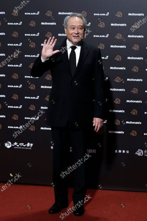 Ang Lee poses for photographs at the 56th Golden Horse Awards ceremony in Taipei, Taiwan, 23 November 2019. The film awards established in 1962 are presented to filmmakers working in Chinese-language cinema.