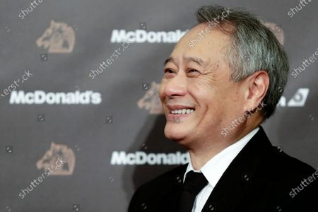 Stock Picture of Ang Lee smiles during an interview at the 56th Golden Horse Awards ceremony in Taipei, Taiwan, 23 November 2019. The film awards established in 1962 are presented to filmmakers working in Chinese-language cinema.
