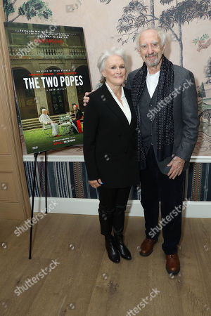 Stock Image of Glenn Close, Jonathan Pryce