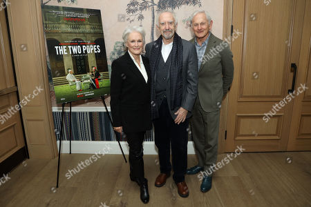 Editorial image of 'Two Popes' special screening, New York, USA - 23 Nov 2019