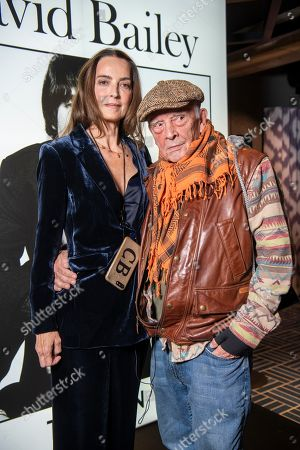 Editorial image of David Bailey in conversation at Flannels, London, UK - 22 Nov 2019