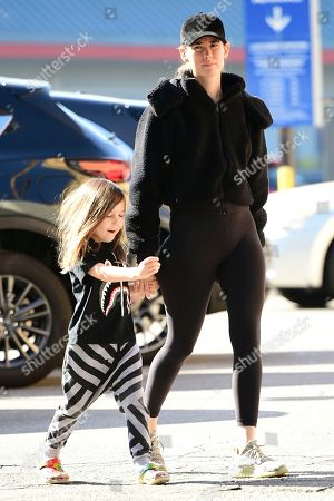 Editorial picture of Meagan Camper and son Saint Wentz out and about, Los Angeles, USA - 22 Nov 2019