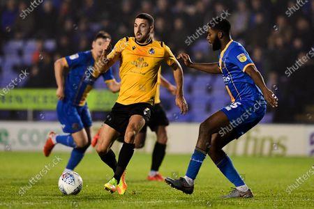 Editorial photo of Shrewsbury Town v Bristol Rovers, UK - 23 Nov 2019