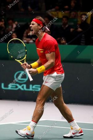 Editorial picture of Davis Cup Madrid Finals, Spain - 23 Nov 2019