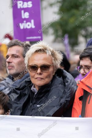 Muriel Robin Violence against woman protest