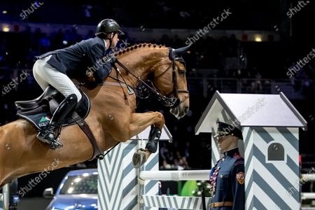 Editorial picture of Longines Global Champions Tour Super Grand Prix, Prague, Czech Republic - 23 Nov 2019