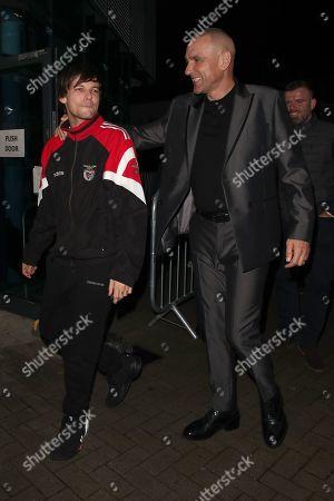 Louis Tomlinson and Vinnie Jones