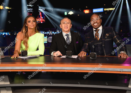 Stock Picture of Kate Abdo, Ray Mancini, Shawn Porter