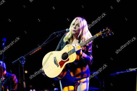 Editorial image of Rickie Lee Jones in concert at Fabrique, Milan, Italy - 15 Nov 2019