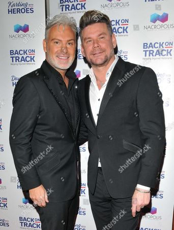 Stock Picture of Gary Cockerill and Phil Turner