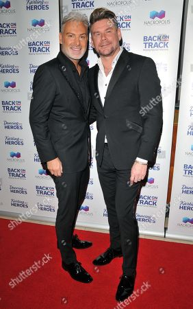 Stock Image of Gary Cockerill and Phil Turner