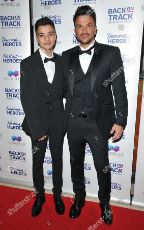Peter Andre and Junior Andre