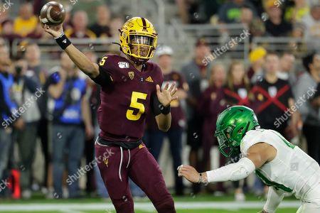 Editorial photo of Oregon Arizona St Football, Tempe, USA - 23 Nov 2019