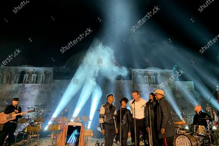 Editorial picture of Coldplay perform for album launch in Amman, Jordan - 23 Nov 2019