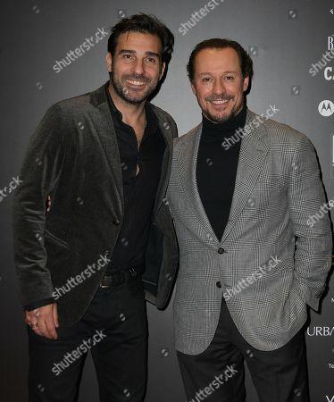 Stock Photo of Edoardo Leo and Stefano Accorsi