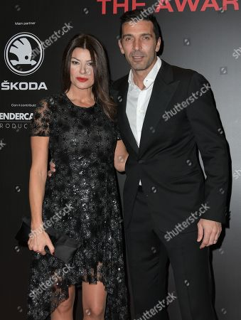 Ilaria D'Amico and Gianluigi Buffon