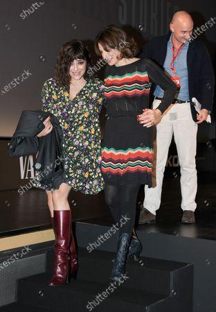 Valentina Lodovini and Lorenza Guess