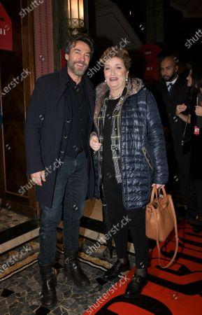 Alessio Boni and Mara Maionchi