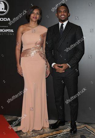 Georgette Eto'o and Samuel Eto'o