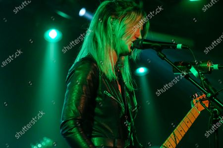 Editorial picture of The Joy Formidable in concert at The Tramshed, Cardiff, Wales, UK - 23 Nov 2019