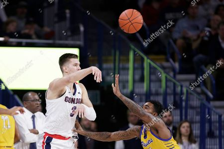 Editorial photo of CS Bakersfield Gonzaga Basketball, Spokane, USA - 23 Nov 2019