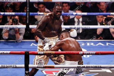 Editorial photo of Deontay Wilder vs Luis Ortiz II, Las Vegas, USA - 23 Nov 2019
